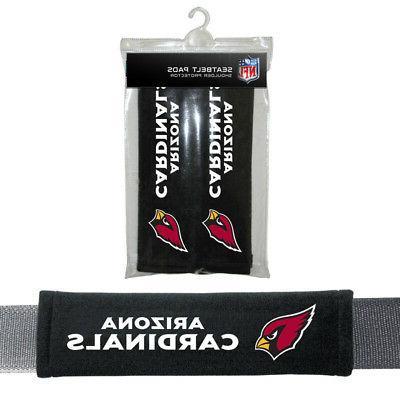 2pc nfl arizona cardinals car truck bag
