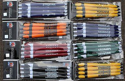 8 pens nfl click pens plain color