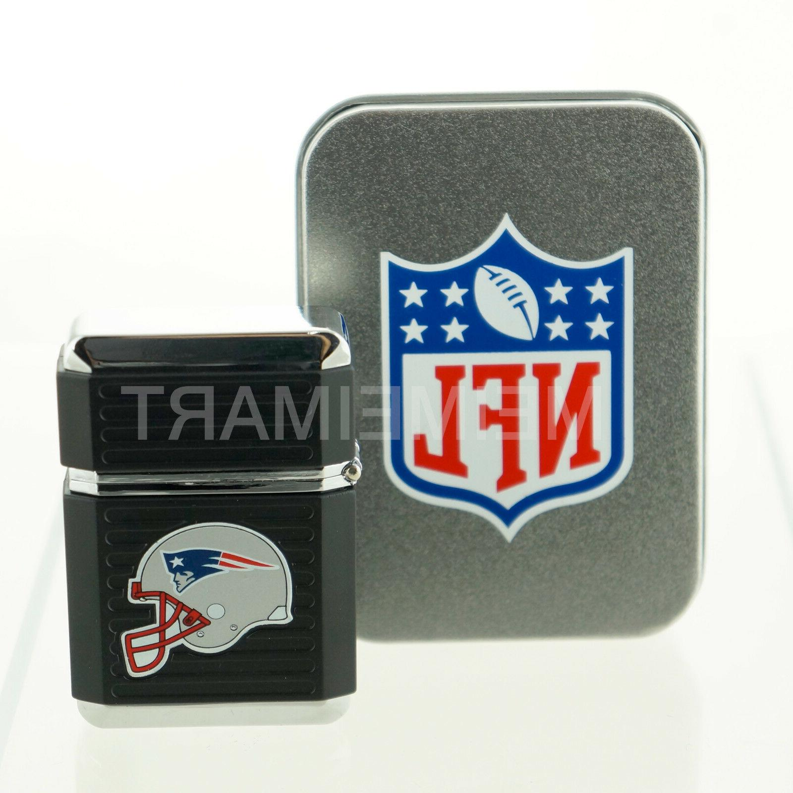 all teams windproof refillable butane lighter w