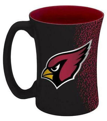 arizona cardinals 14oz mocha design coffee mug