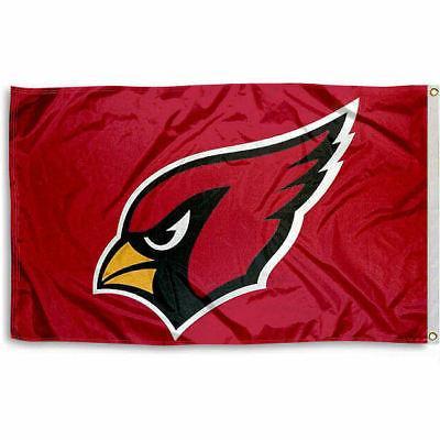 arizona cardinals 3 by 5 banner flag