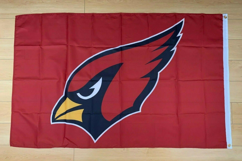 arizona cardinals 3x5 ft flag banner