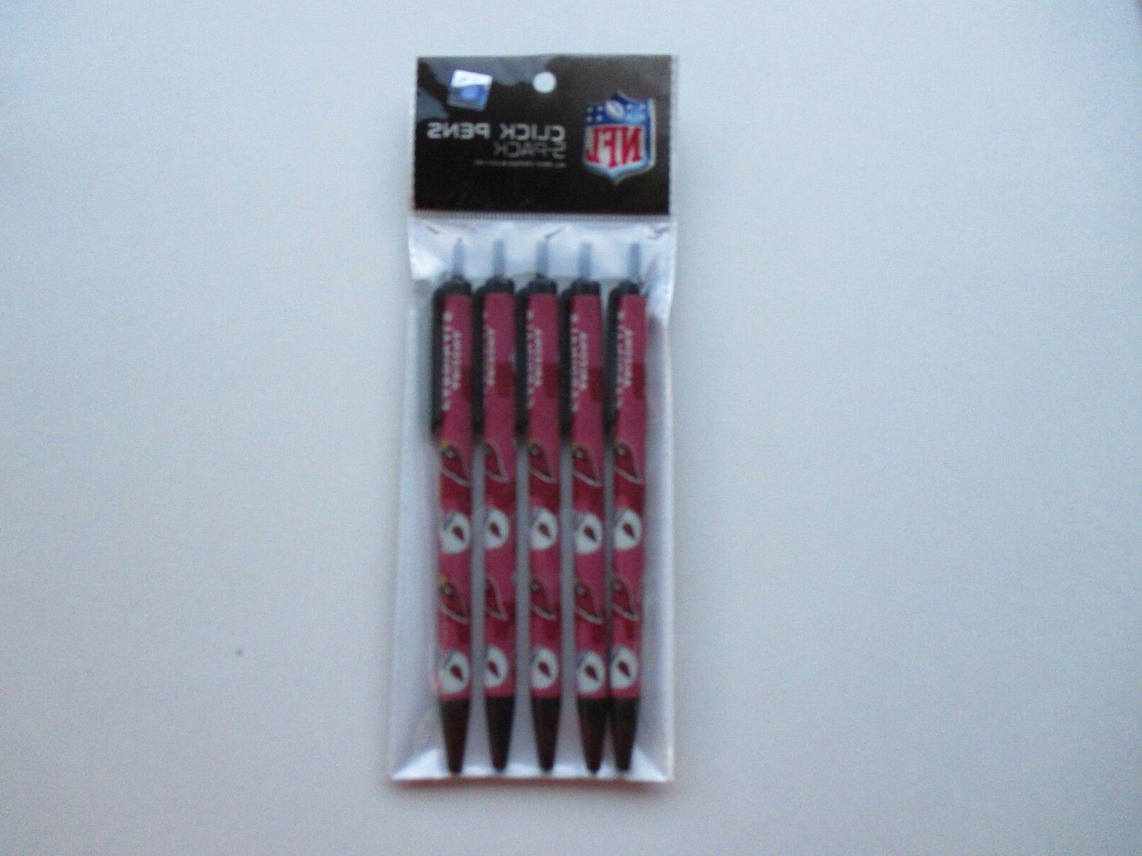 arizona cardinals 5 pack pens