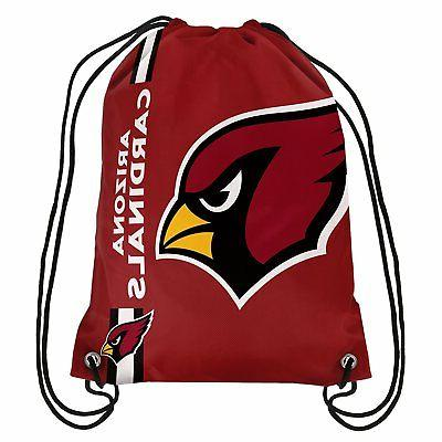 arizona cardinals back pack sack drawstring gym
