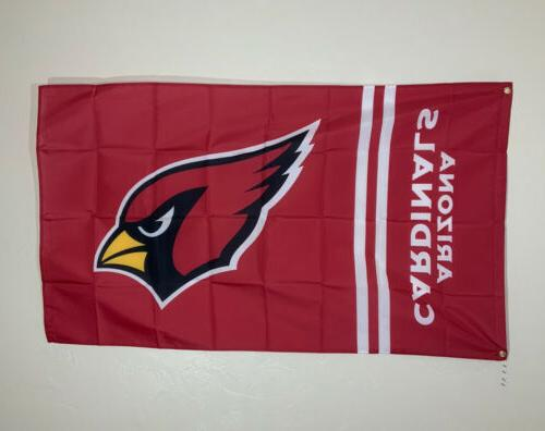 Arizona Cardinals Ft Flag Decor Gift Sports