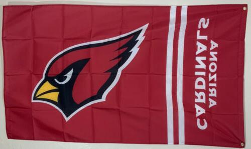 arizona cardinals banner 3x5 ft flag man