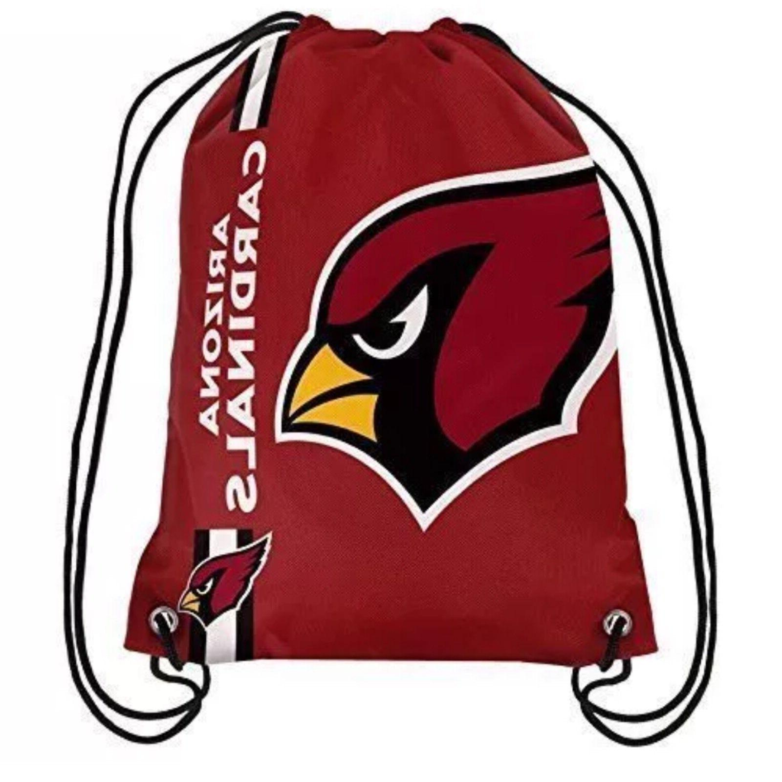 arizona cardinals big logo drawstring