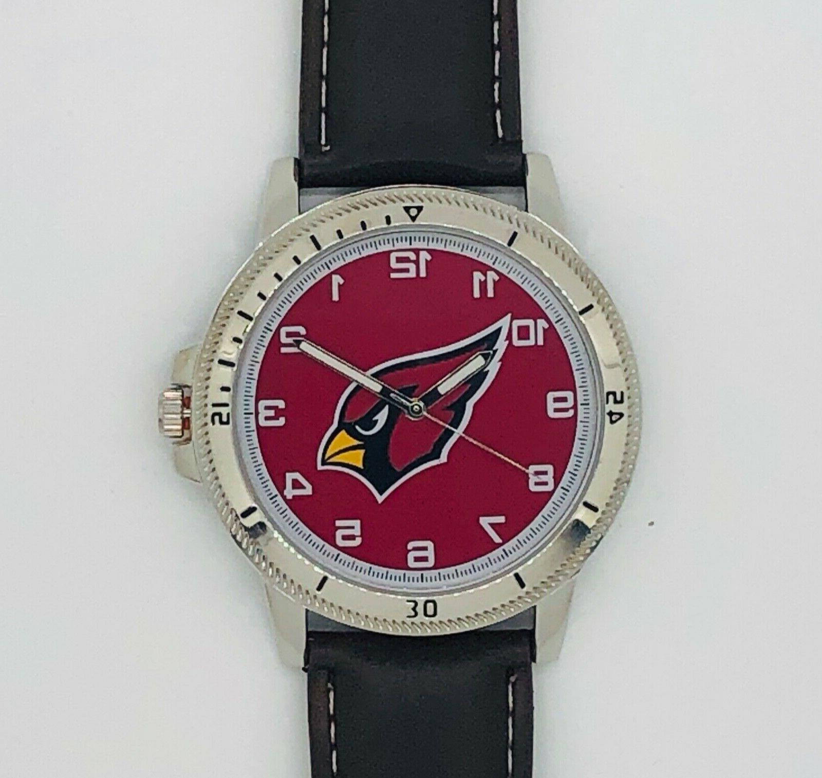 arizona cardinals classic men s sport watch
