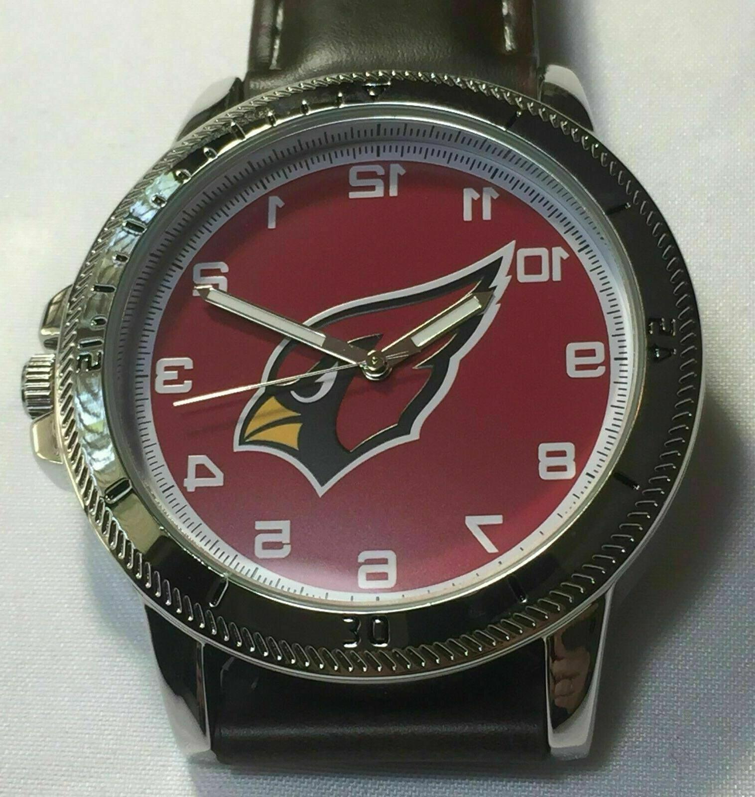 arizona cardinals classic watch