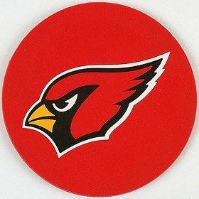 arizona cardinals coaster set