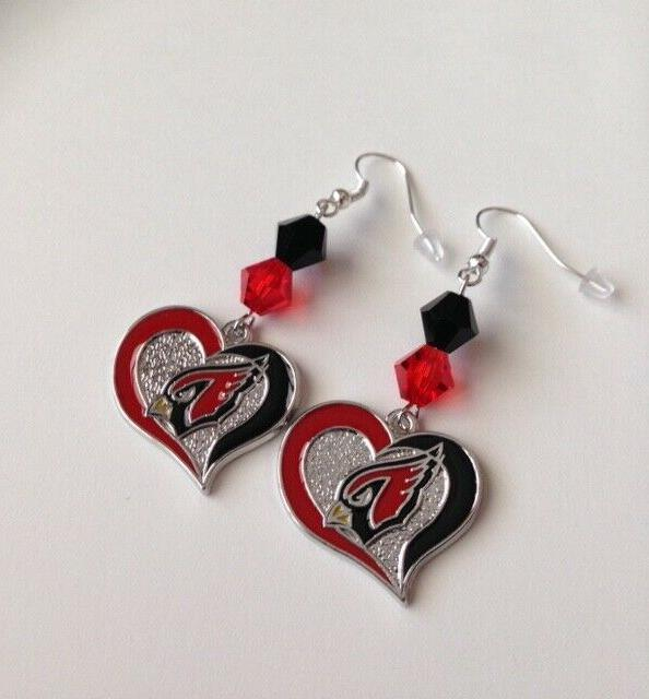 arizona cardinals earrings nfl earrings nfl jewelry