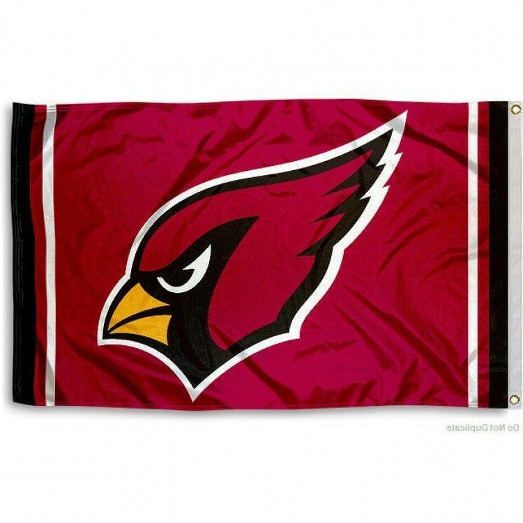 arizona cardinals flag 3 x5 nfl logo