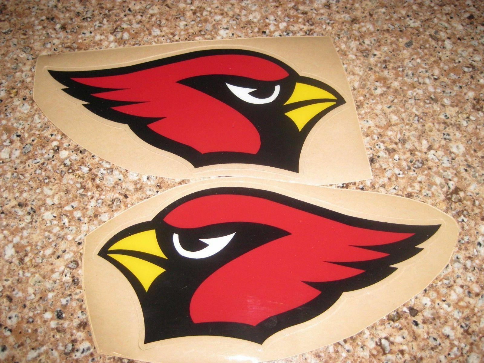 arizona cardinals football helmet decals set 20
