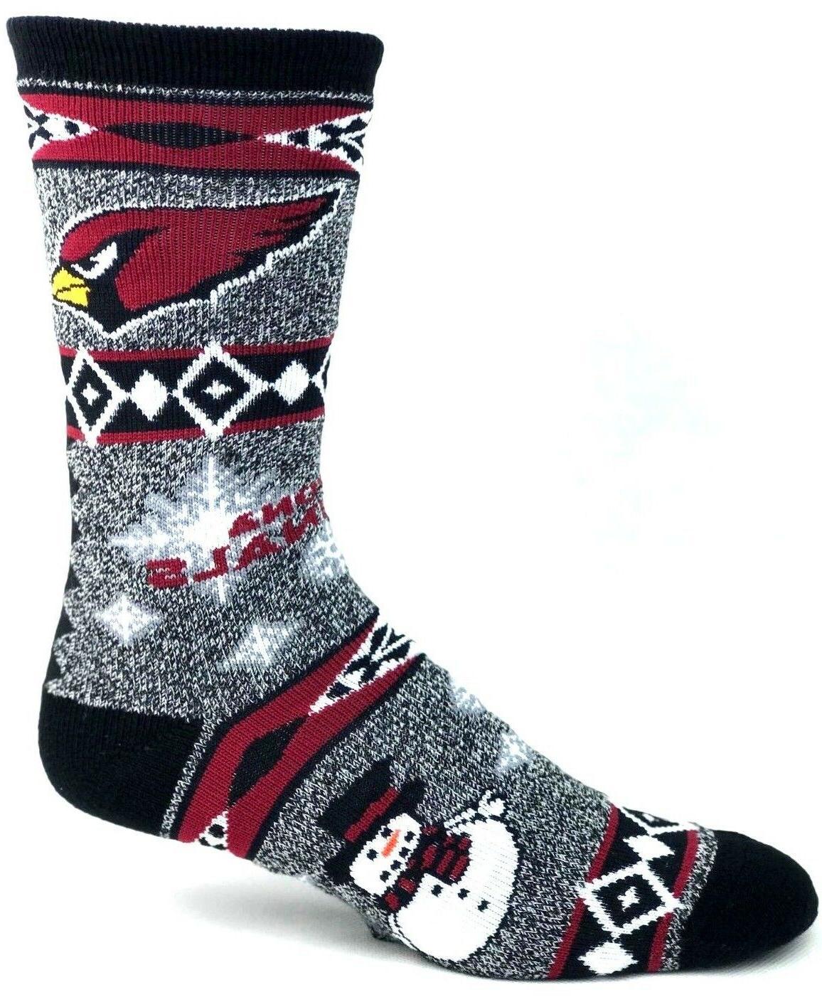 arizona cardinals football ugly holiday snowman sweater