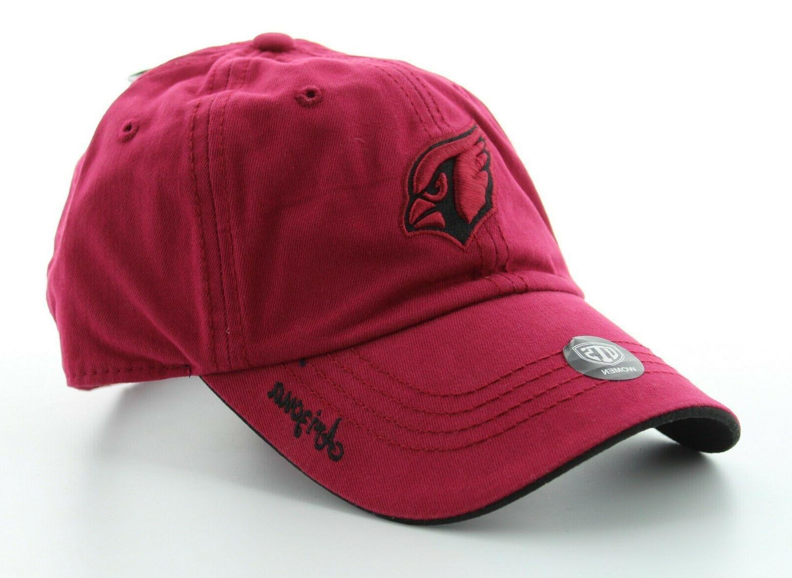 OTS Cardinals Hat, NFL Womens Cap with Logo,
