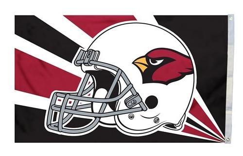 Arizona Cardinals 3x5 Helmet Flag