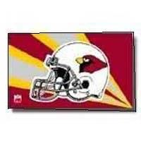 arizona cardinals helmet flag