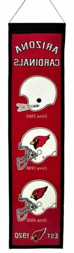 Arizona Cardinals Heritage Banner 1001
