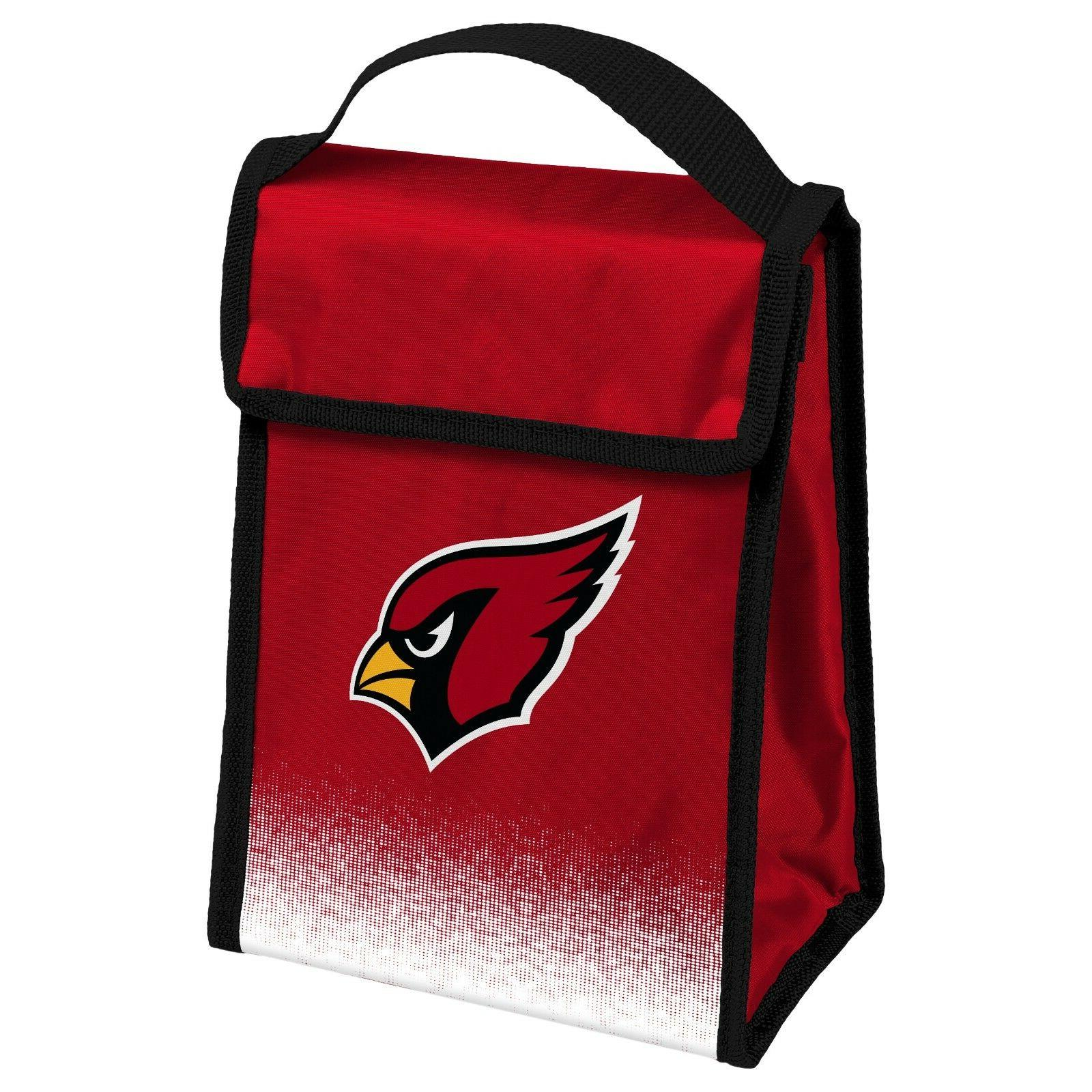 arizona cardinals insulated lunch bag box cooler