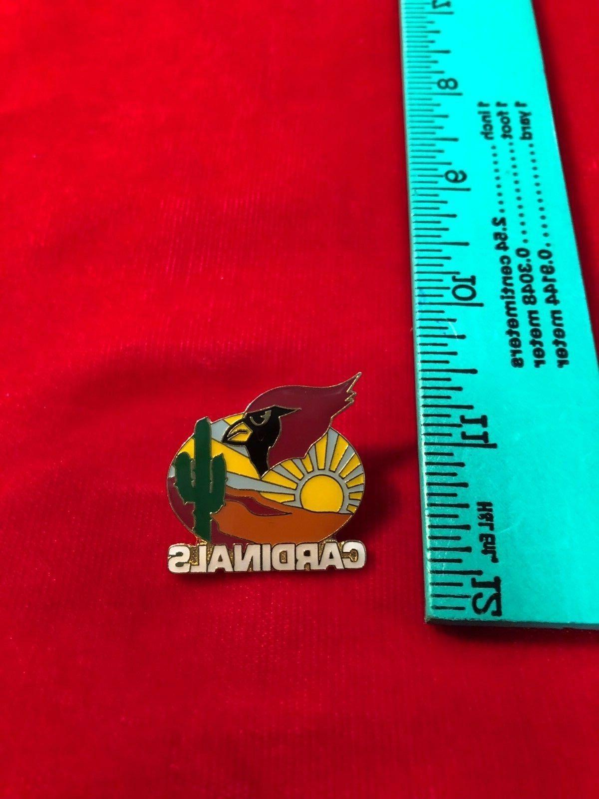 arizona cardinals logo desert sun pin gold