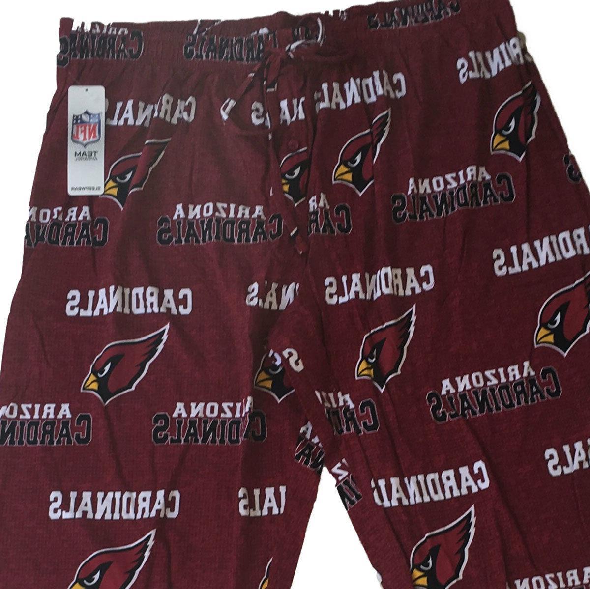 NFL Arizona Mens Lounge Pants Sleep Pajama