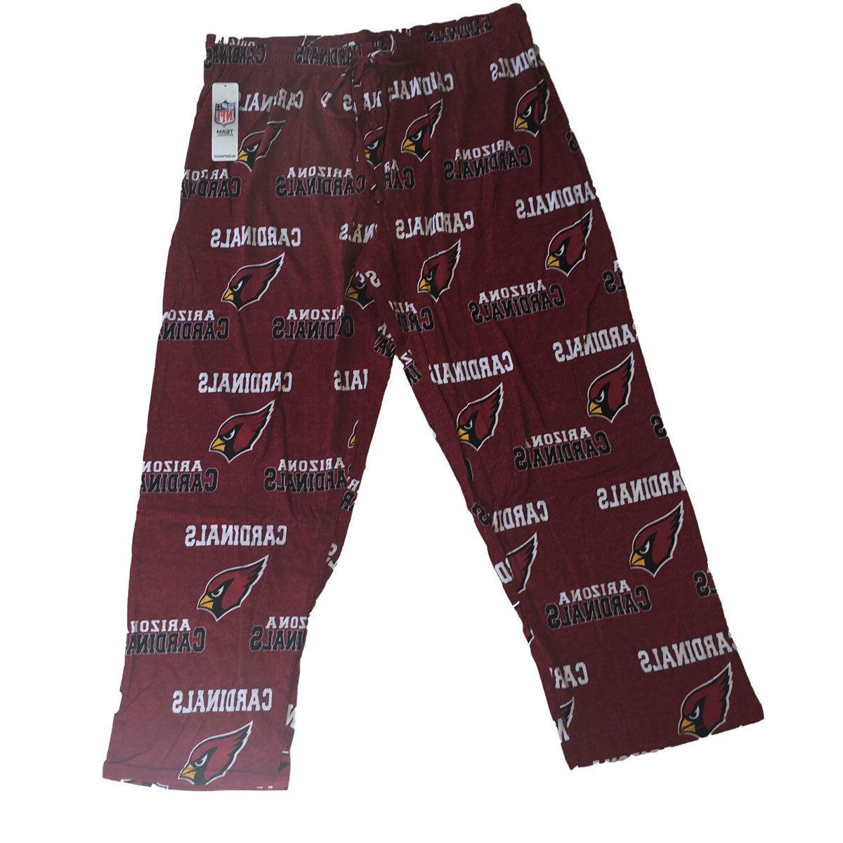 arizona cardinals mens lounge pants sleep wear