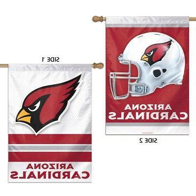arizona cardinals nfl 28x40 2 sided banner