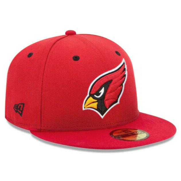 arizona cardinals nfl authentic 59fifty fitted cap