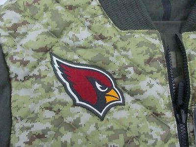 Arizona Cardinals Salute to Service Nike Bomber Jacket M