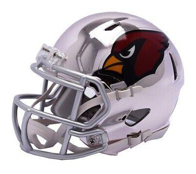 arizona cardinals speed mini helmet chrome alternate