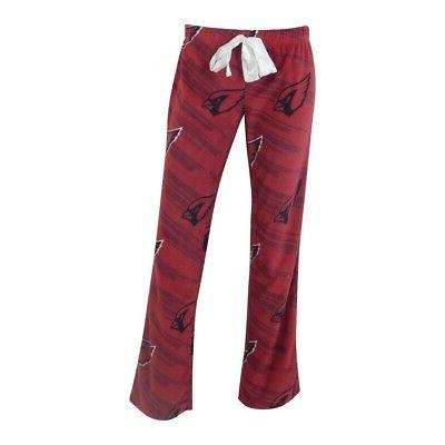 ladies arizona cardinals pajamas sleepwear lounge pants