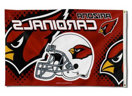 new arizona cardinals 3x5 indoor outdoor flag