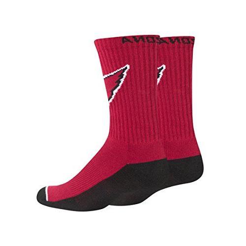 NFL Arizona OTS Anthem Sport Sock, Dark Red,