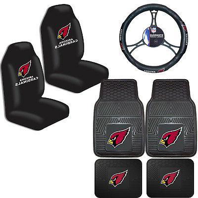 nfl arizona cardinals car truck seat covers