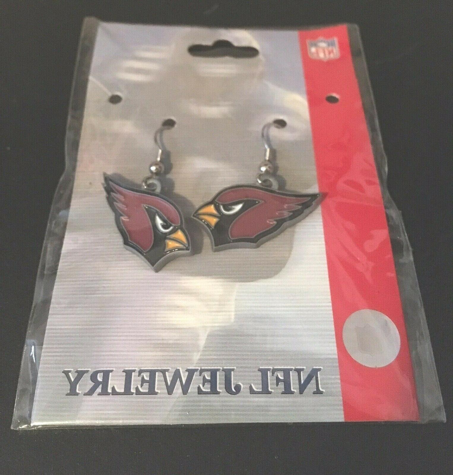 nfl arizona cardinals earrings new jewelry dangle