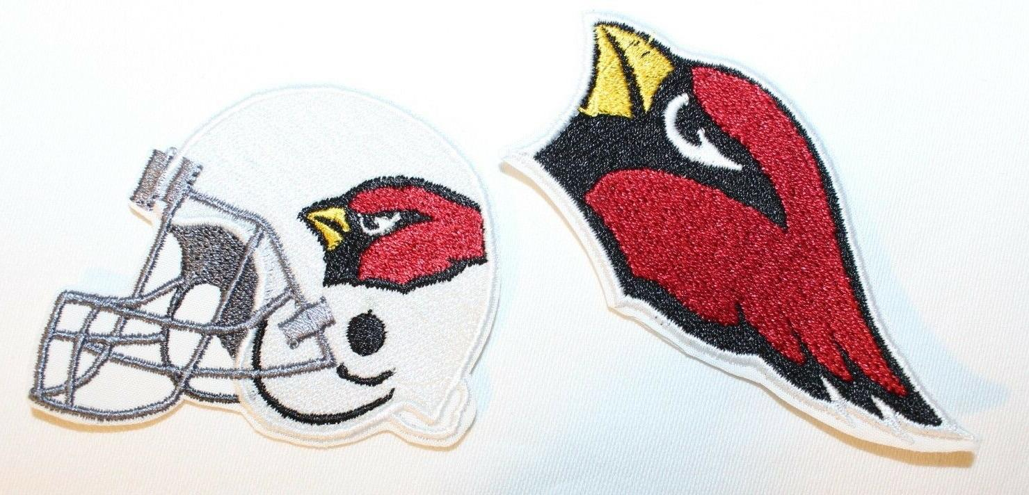 nfl arizona cardinals embroidered iron on patch