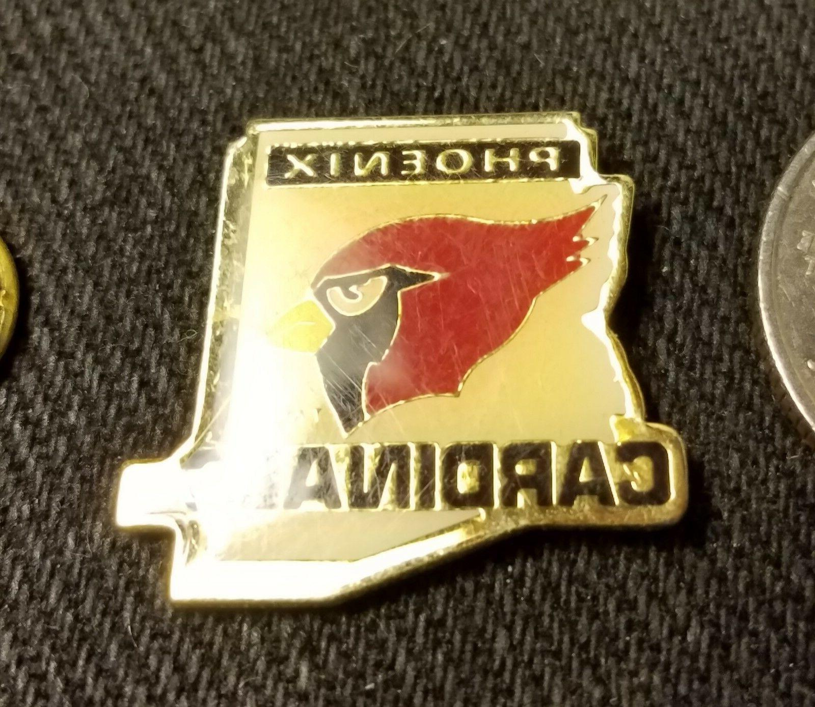 nfl arizona cardinals football lapel pin new