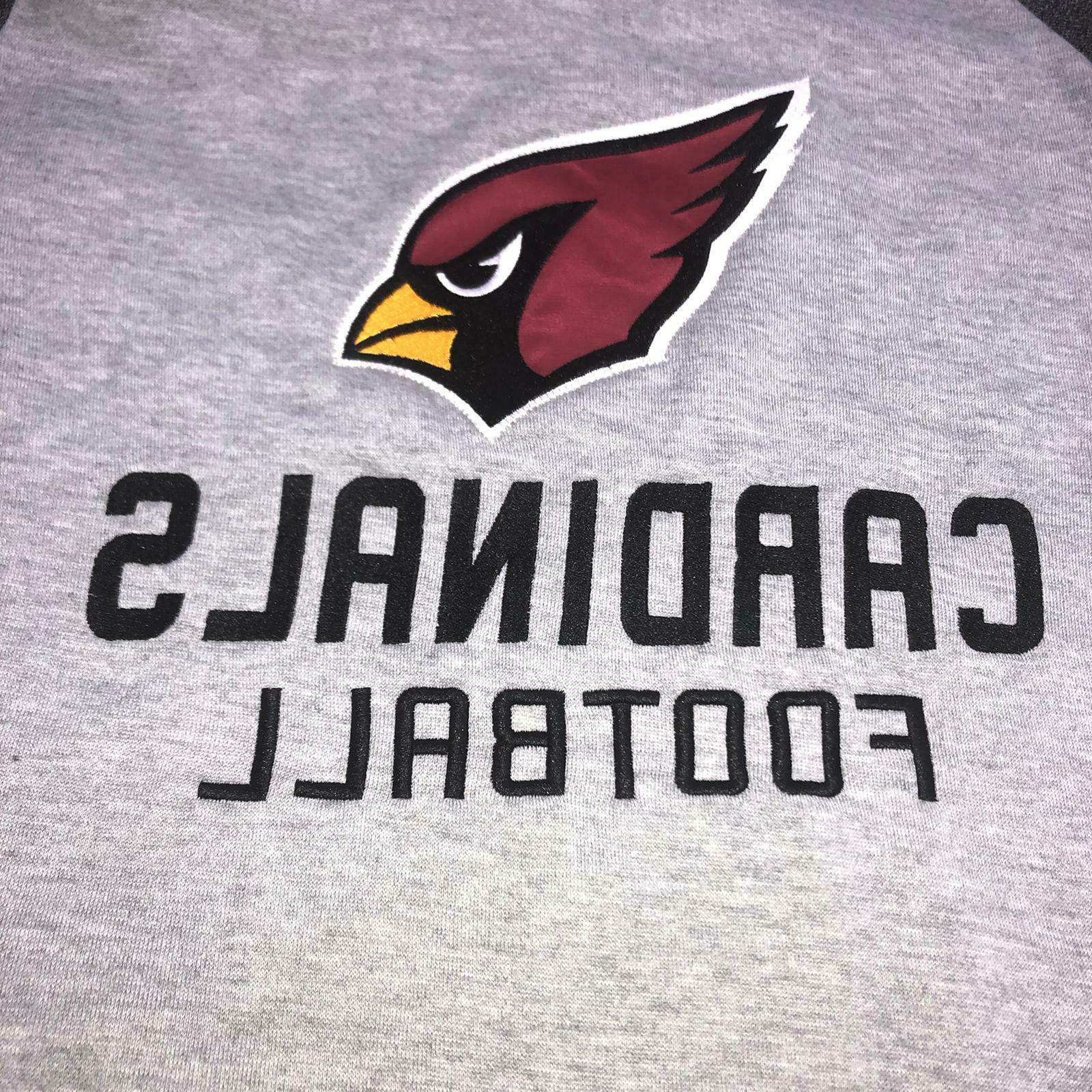 NFL Arizona Long Sleeve Sweatshirt Medium