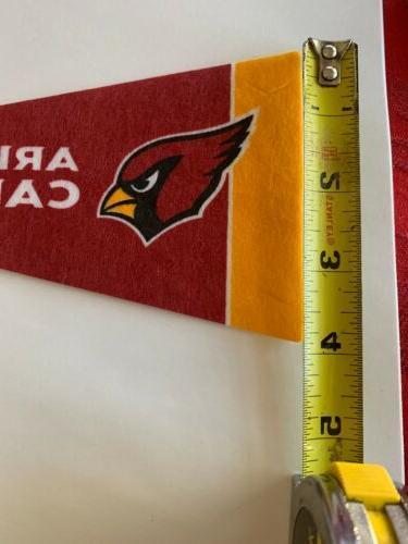 NFL Cardinals Pennant Flag Football Decor