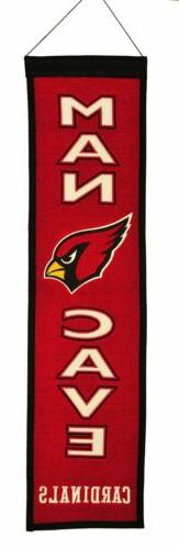 NFL Football Arizona Cardinals Man Cave Banner 1001
