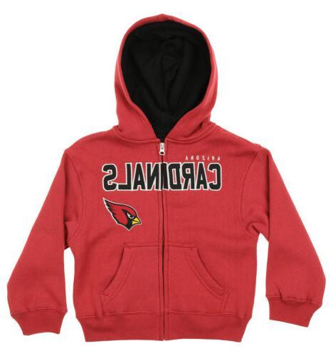 nfl kids arizona cardinals stated full zip