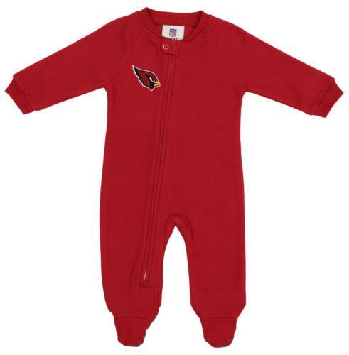 nfl newborn team color and logo fleece