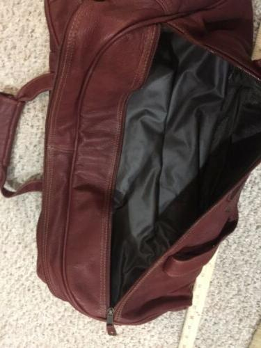 NFL NFC Cardinals Outback Leather Duffel