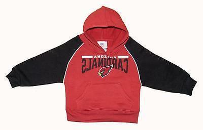 nwt arizona cardinals nfl toddlers synthetic fleece