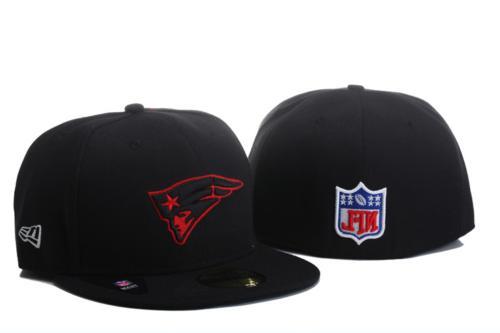 NWT New Era Black/Red 59FIFTY Team Logo