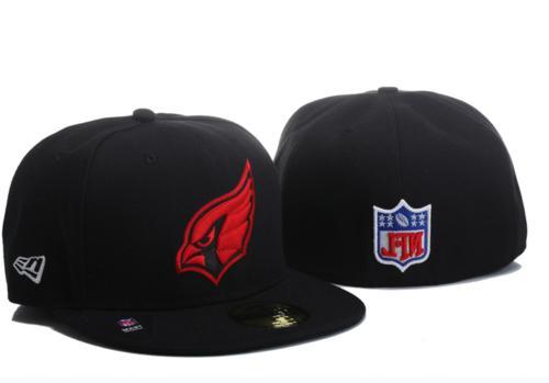 NWT Era Black/Red 5950 Team Hat