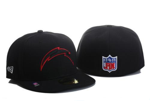 Black/Red 59FIFTY Team Fitted