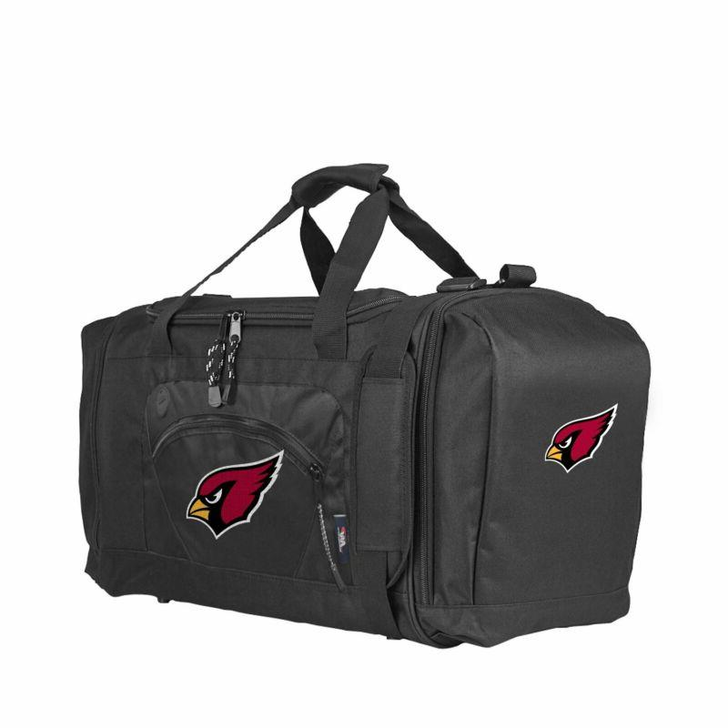 officially licensed nfl roadblock duffel bag black