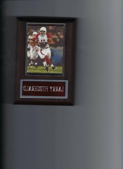 LARRY FITZGERALD PLAQUE ARIZONA CARDINALS NFL FOOTBALL