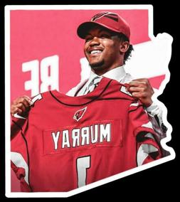 MAGNET Kyler Murray Arizona Cardinals Quarterback shaped Pla